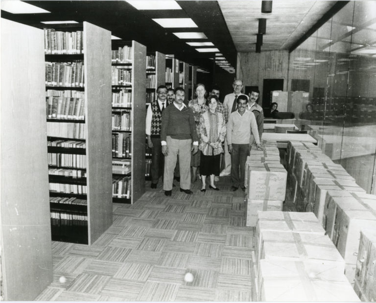 Library Staff Working 01-1980